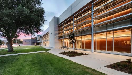 Phillip J. Patiño School of Entrepreneurship, Courtyard View