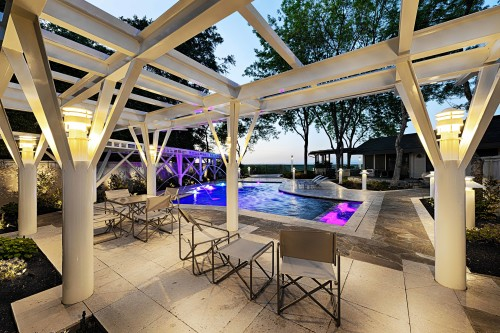 Pool Trellis and Canopy